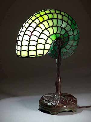 Nautilus Lamp Tiffany