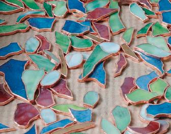 Bordi di Rame Vetri Tiffany