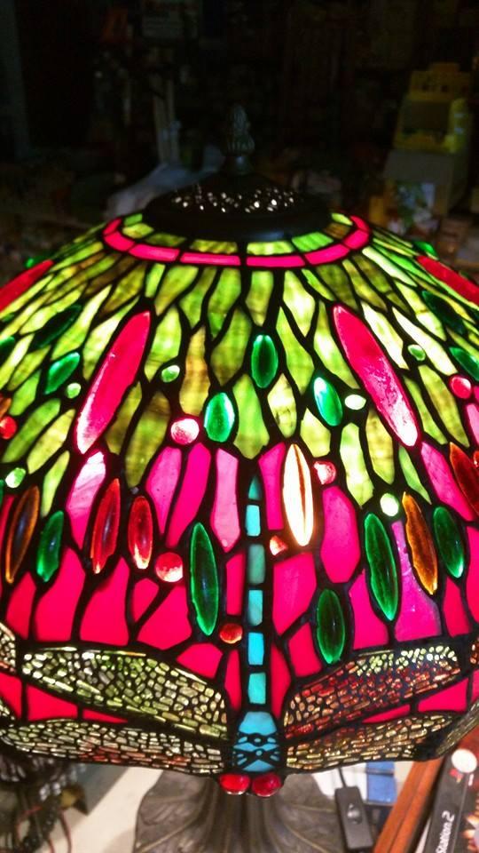 vetri opalescenti lampade tiffany