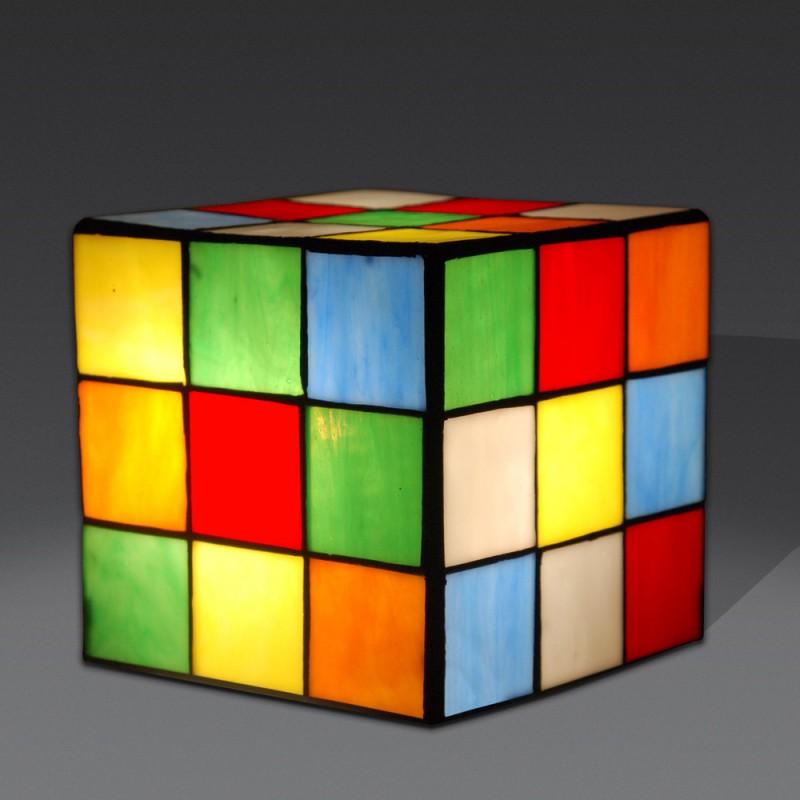 lampada-tiffany-da-tavolo-scrivania-comodino-a-forma-di-cubo-di-rubik