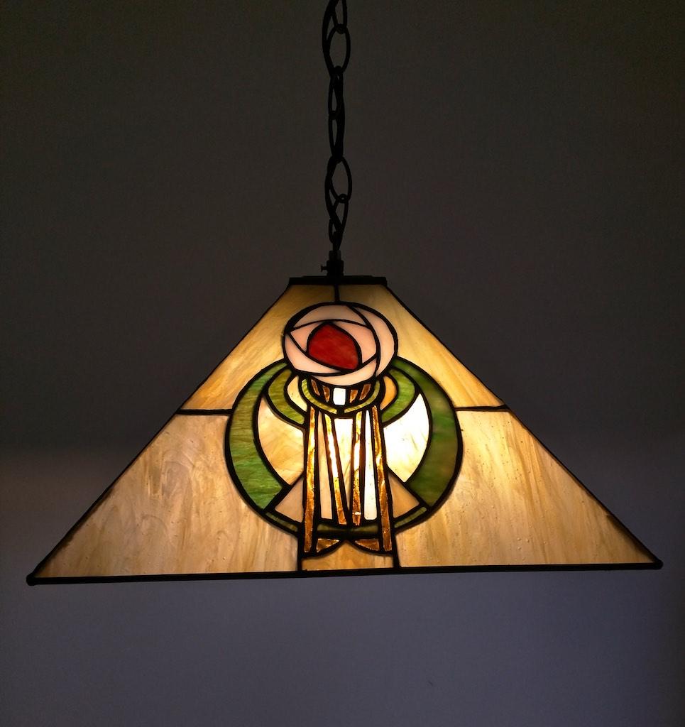 lampada a sospensione tiffany