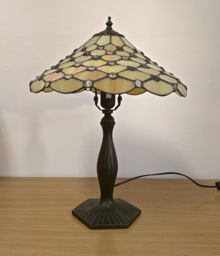Come montare la Lampada da Tavolo Tiffany Gialla IN Lraep