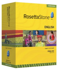 corso inglese rosetta stone e lampade tiffany