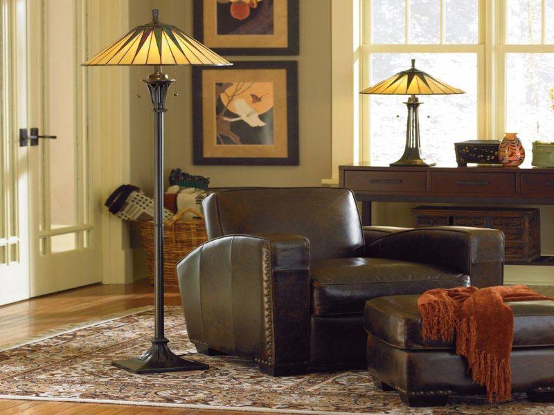lampade tiffany in casa