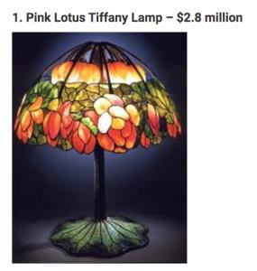 Lampada Tiffany Originale LOTUS
