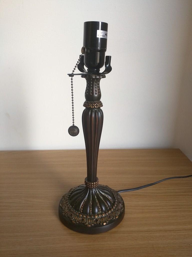 Lampada da Tavolo o Scrivania Tiffany con Fiori, colorata 5