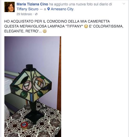 testimonianza lampade tiffany 5