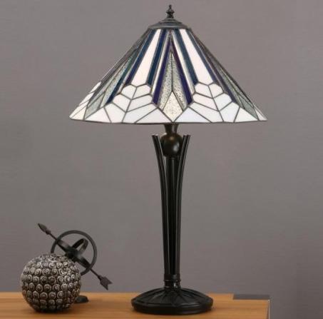 Come montare la lampada da tavolo tiffany moderna modello airotsa - Lampada moderna da tavolo ...