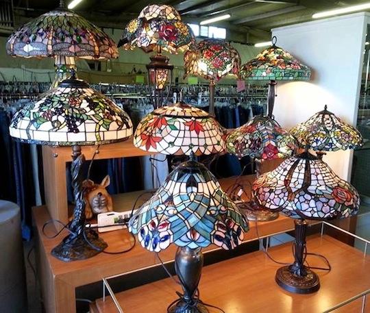 negozio lampade tiffany