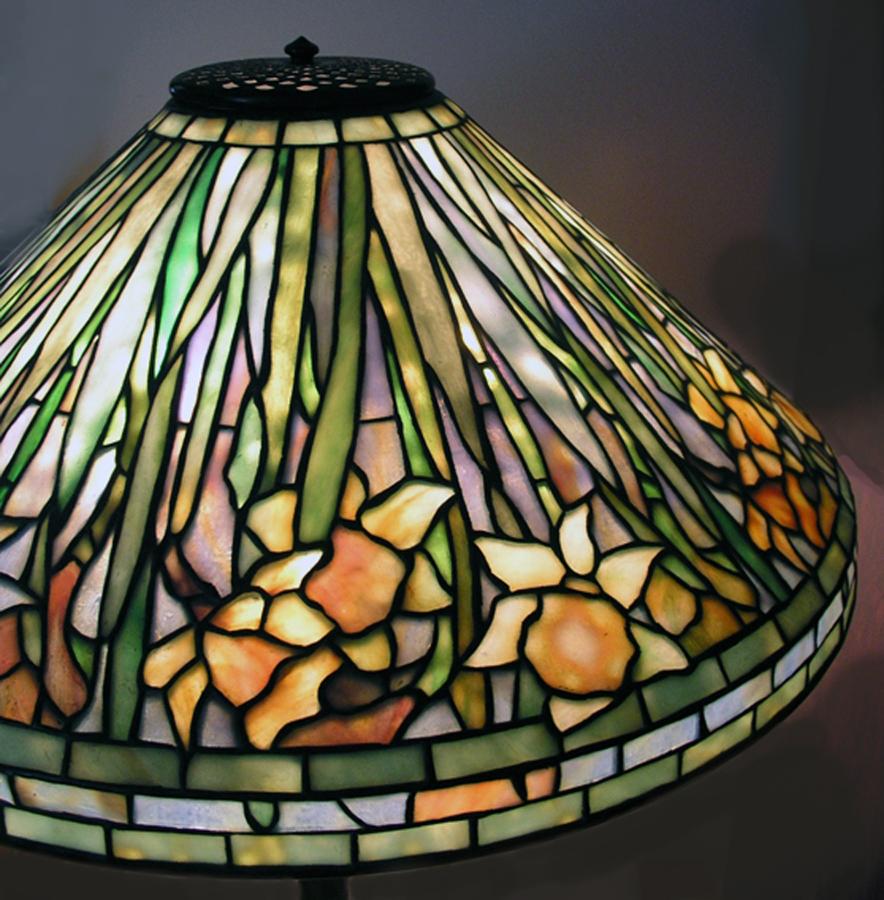 lampade tiffany da tavolo colori dei vetri