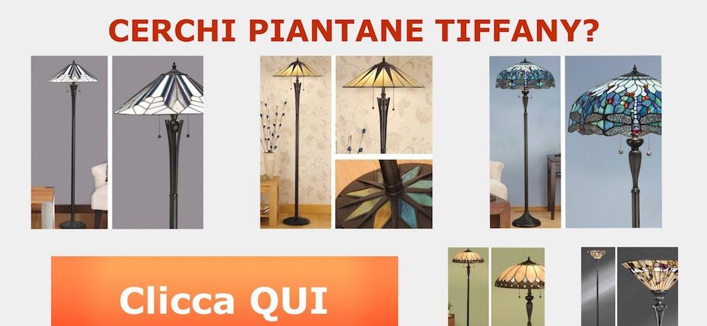 lampada tiffany da terra