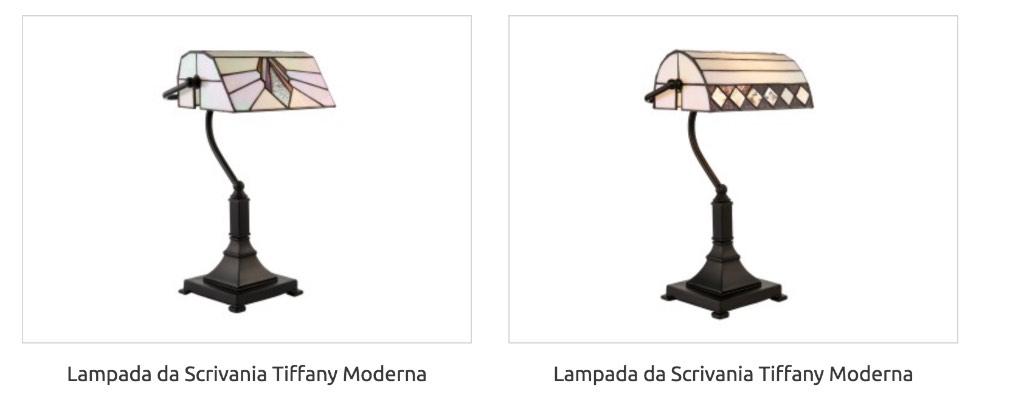 Lampada Tiffany da Tavolo per scrivania