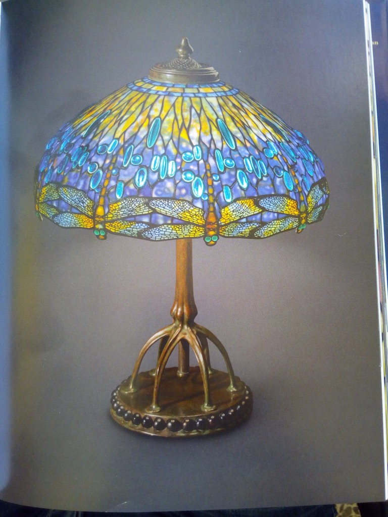 Lampada tiffany dragonfly originale tiffany studios 1
