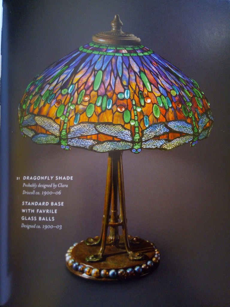 Lampada Tiffany Dragonfly Originale Tiffany Studios 2
