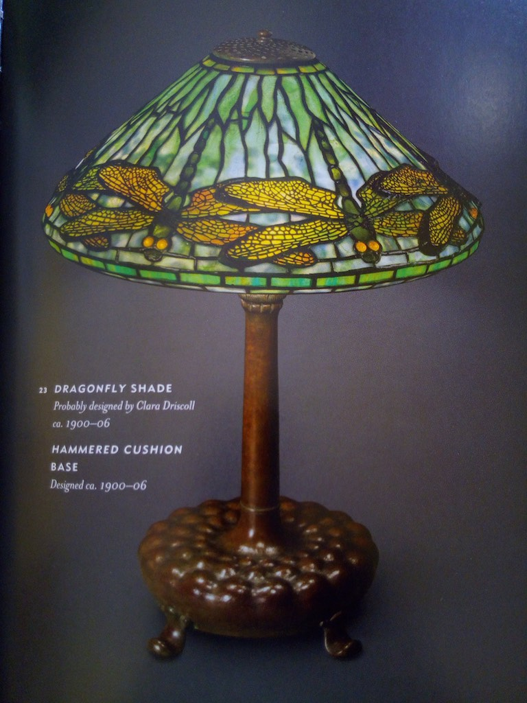 Lampada tiffany dragonfly originale tiffany studios 3