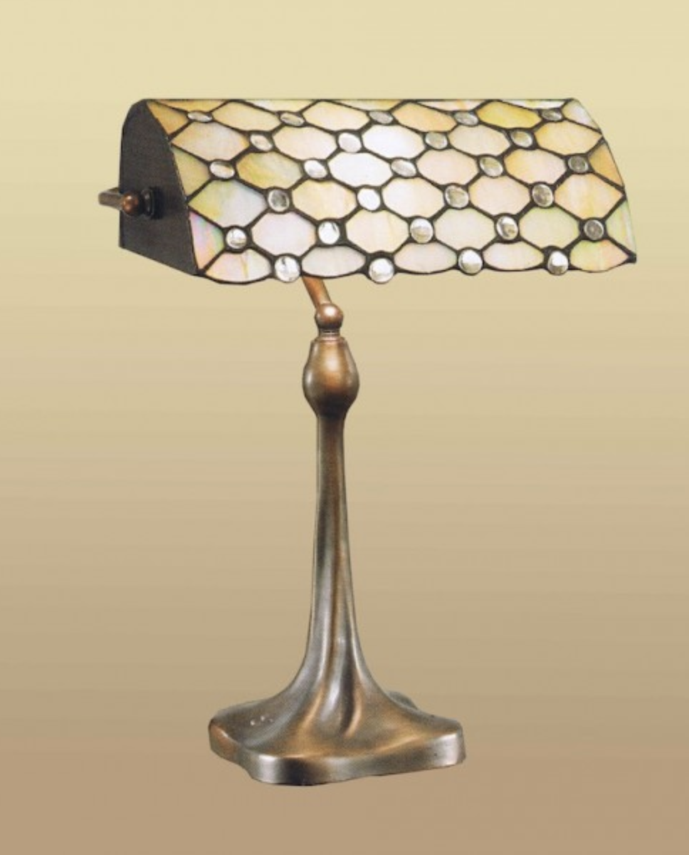 lampada da scrivania tiffany