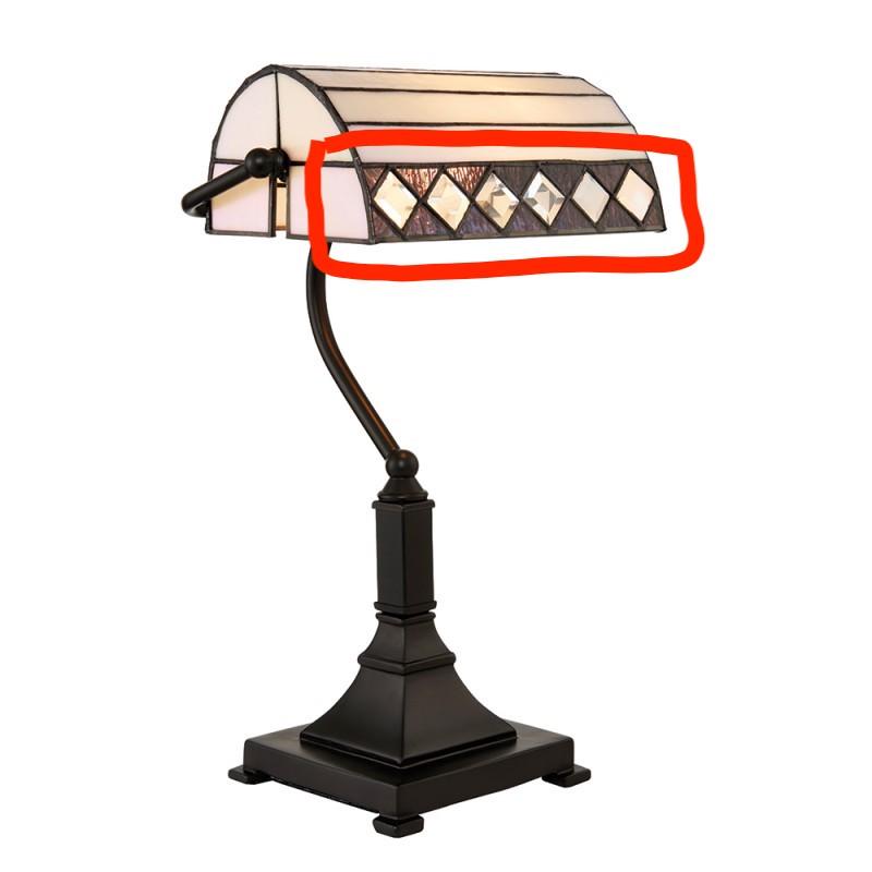 lampada tiffany da scrivania