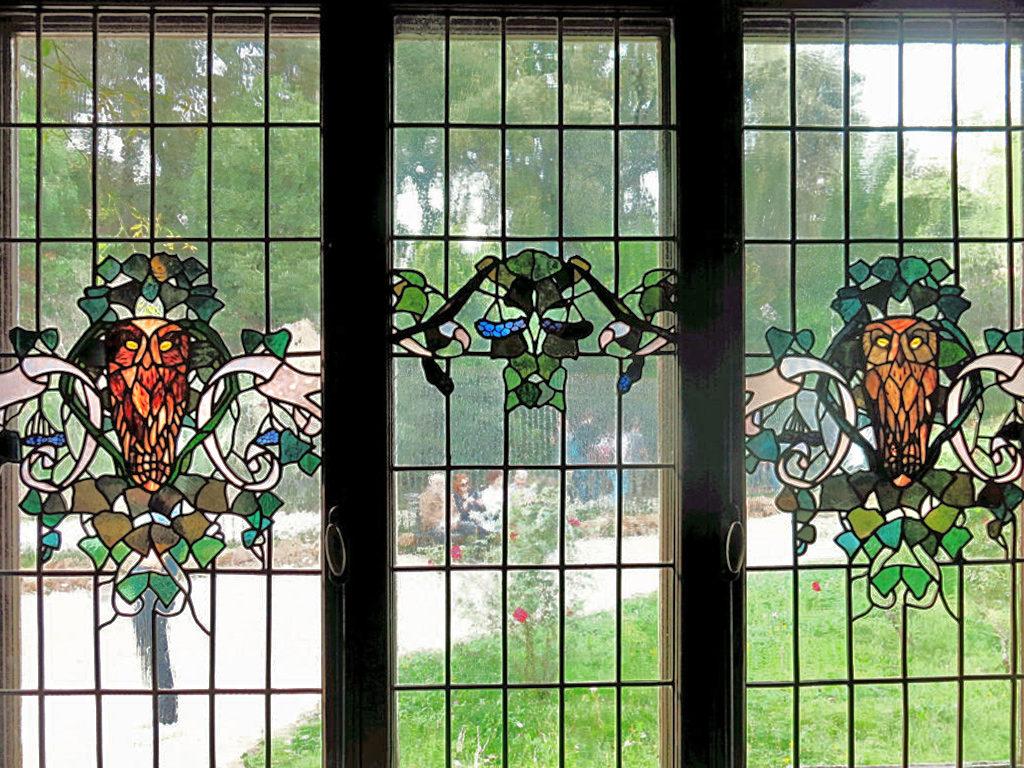 vetrata casina delle civette roma villa torlonia