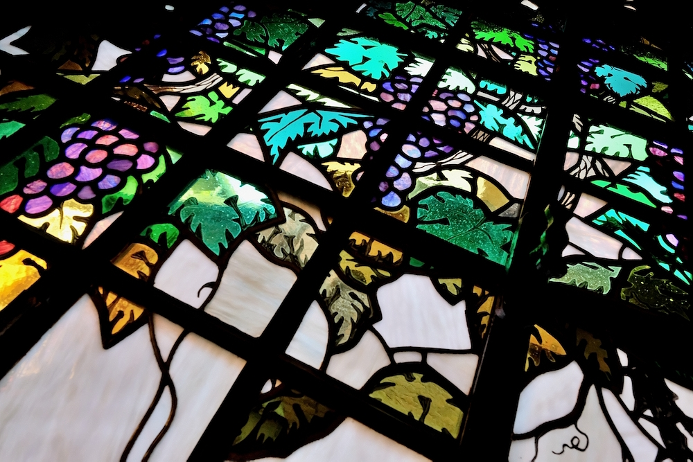 vetrata casina delle civette