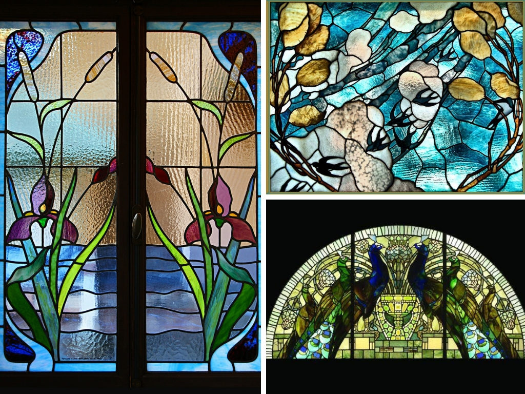 vetrate casina delle civette villa torlonia