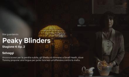 "Lampade Tiffany nella Serie Tv ""Peaky Blinders"""