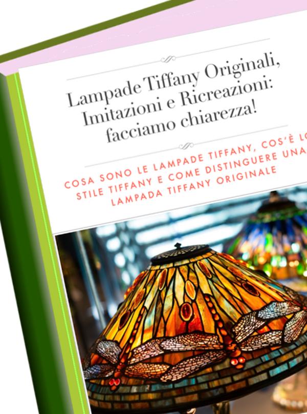 lampade tiffany originali libro
