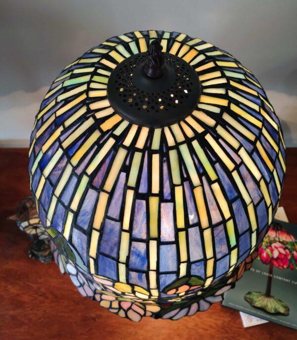 Lampada da Tavolo Stile Tiffany Lotus 4
