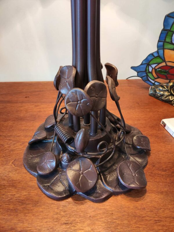 Lampada da Tavolo Stile Tiffany Lotus 2