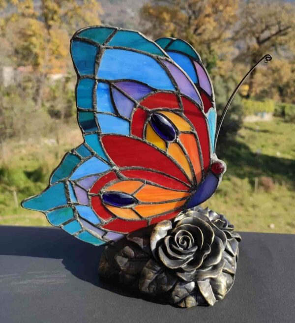 lampada tiffany farfalla 2