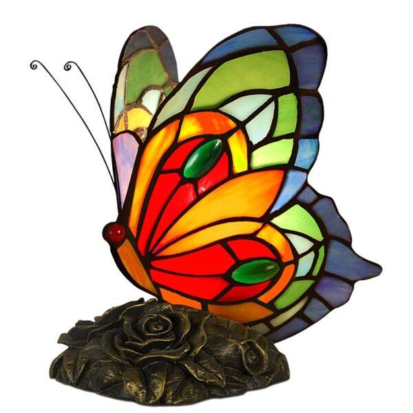lampada tiffany farfalla