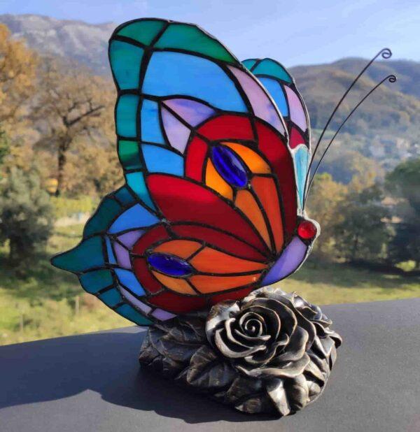 lampada tiffany farfalla 3