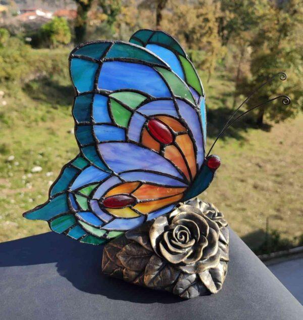 lampada tiffany farfalla AM60080BA 2