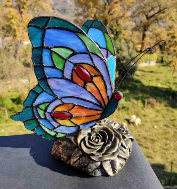 lampada tiffany farfalla AM60080BA 3