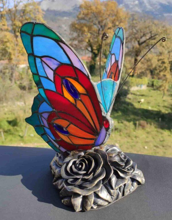 lampada tiffany farfalla 4