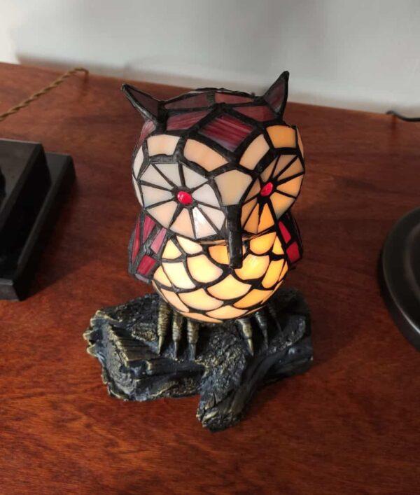 lampada tiffany gufo 12