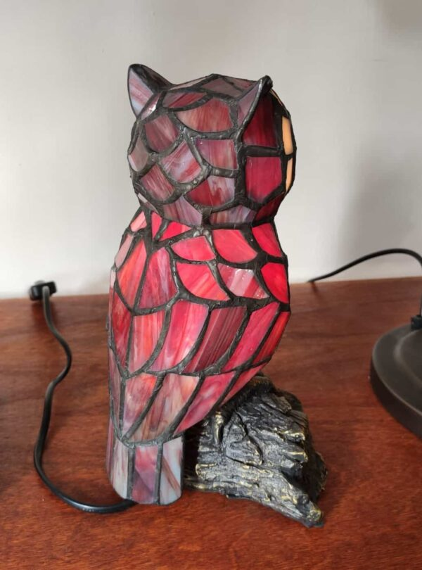 lampada tiffany gufo 13