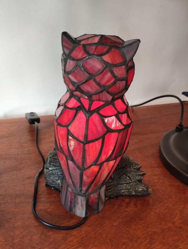 lampada tiffany gufo 16