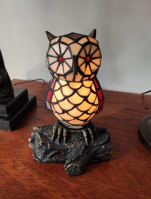 lampada tiffany gufo 17