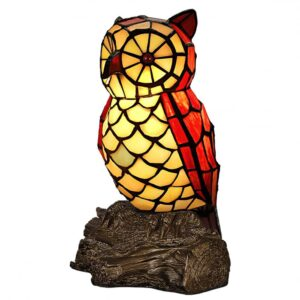 Lampada Tiffany Gufo