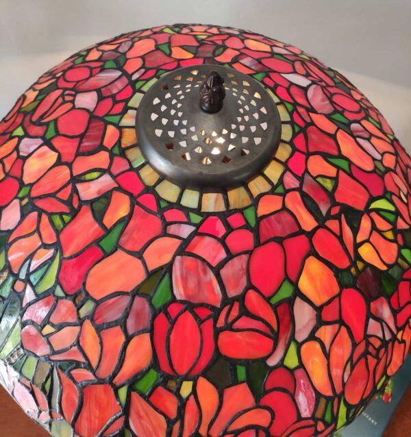 Lampada da Tavolo Tiffany con Tulipani 14
