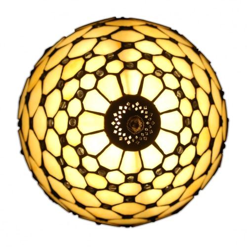 lampada da comodino tiffany gialla alto@0.5x