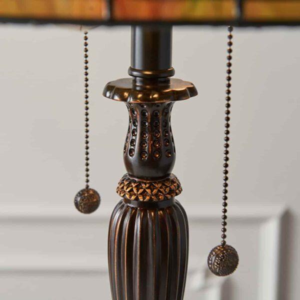 lampada da tavolo stile tiffany 3