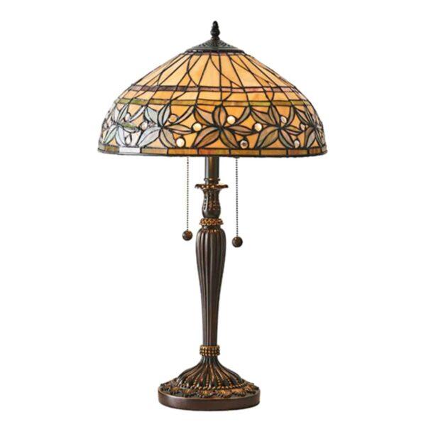 lampada da tavolo stile tiffany 4