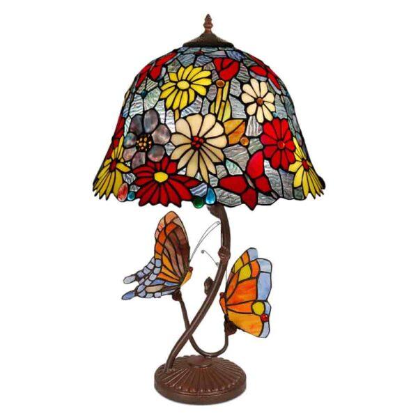 lampada tiffany farfalle