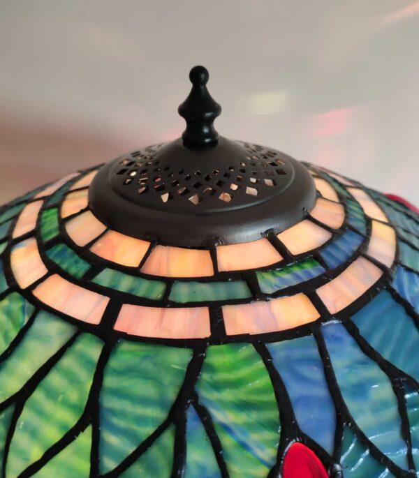 lampada da tavolo tiffany con libellule 3