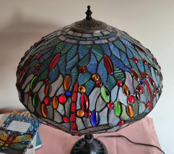 lampada da tavolo tiffany con libellule 8