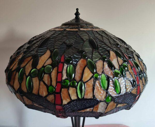 lampada tiffany da tavolo con libellule 9