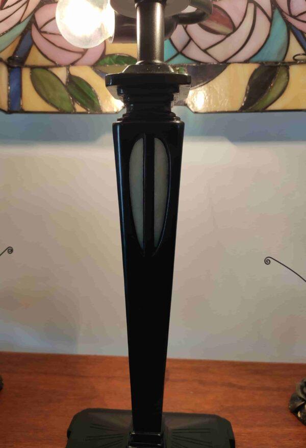 Lampada da Tavolo Tiffany con Fiori 257