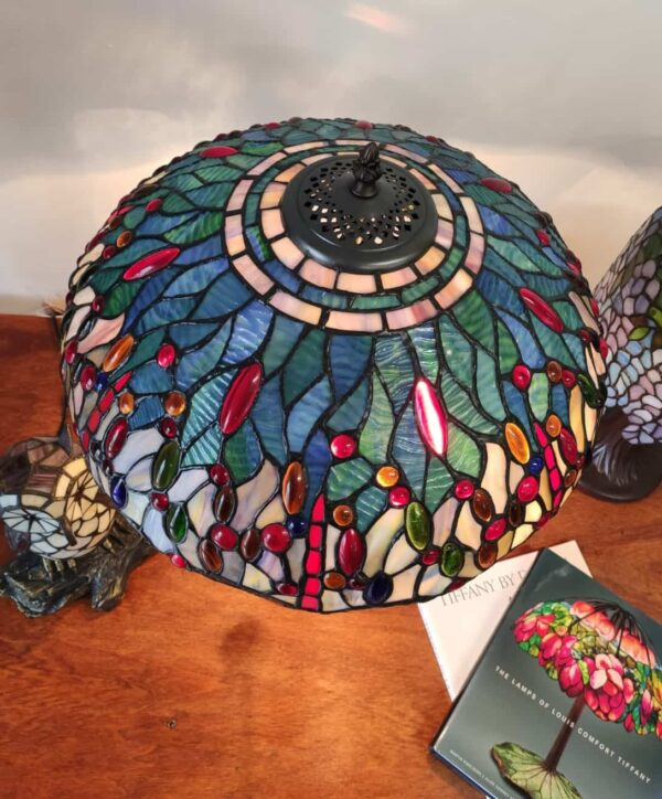 lampada tiffany con libellule 13