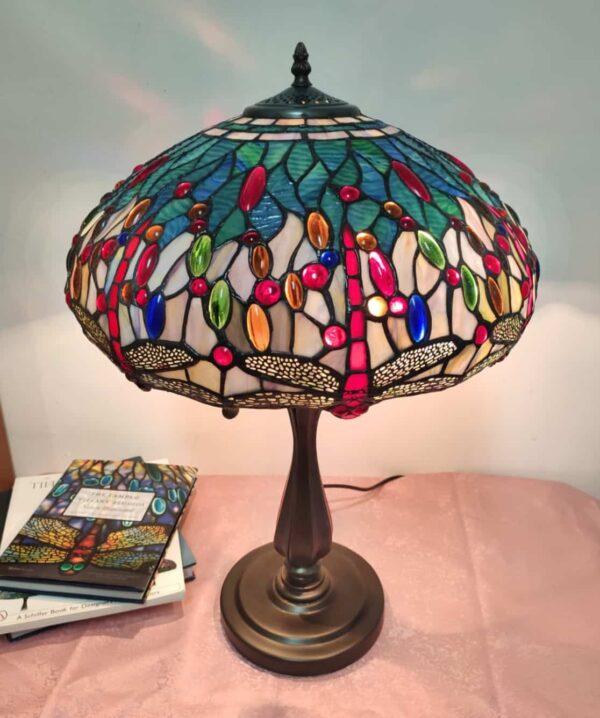 Lampada Tiffany con Libellule 2